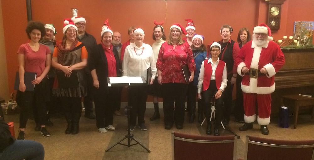 AVIVA Choir visits Pacific Gardens