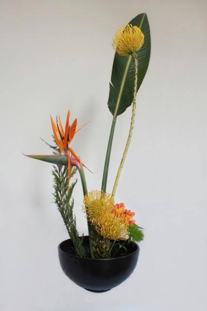 Ikebana meets floral
