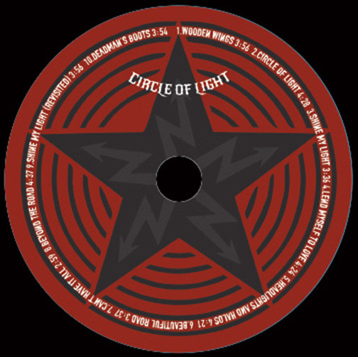 Dave McCann and the Firehearts Circle of Light Disc Design