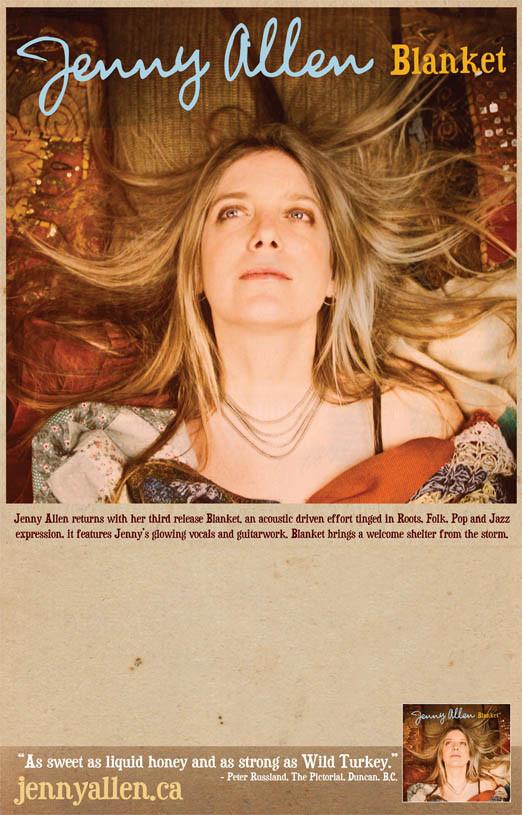 Jenny Allen Blanket Poster