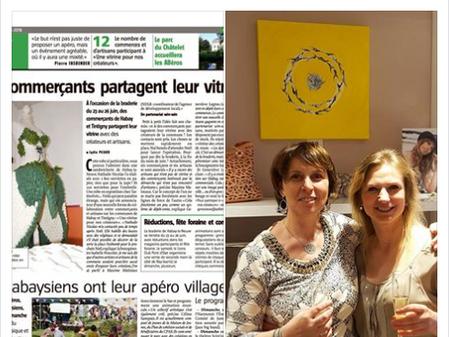 """Collaboration avec la boutique """"L'Essentiel sur Soie"""" d'Habay-la-Neuve, Belgique"""