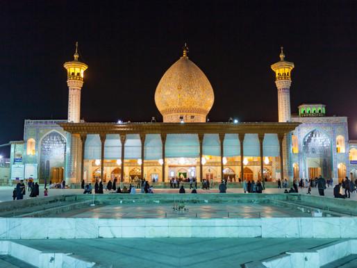 Iran's 900 year old Mirror Mausoleum : Shah Cheragh Mosque | Shiraz