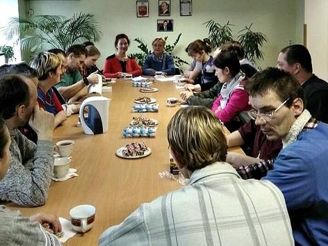 """Центр """"Добровольцы серебряного возраста"""", в рамках программы инклюзивного добровольчества"""