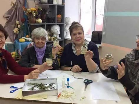 """""""Рождественская игрушка"""" для особенных детей и волонтеров серебряного возраста"""