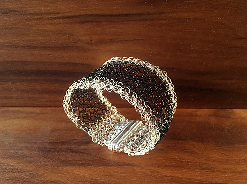 Edgy Wire Crochet Cuff