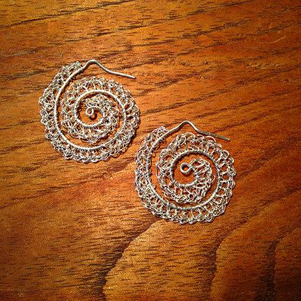 Nautilus Earrings