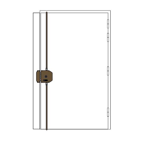 Porte blindée TORDJMAN BP1 + 3 points A2p*