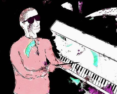 Maestro at Work (Canvas)