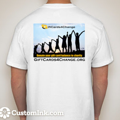 Donate a Gift Card T-Shirt