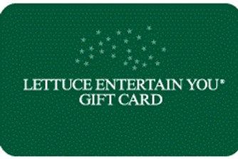 Lettuce Entertain You E-Gift Card ($50.00 Value)