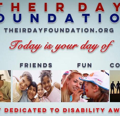 Become a Their Day Foundation Sponsor