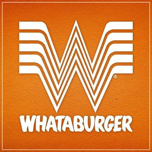 Whataburger E-Gift Card ($15.00 Value)