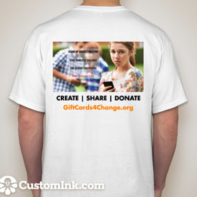 Create | Share | Donate T-Shirt