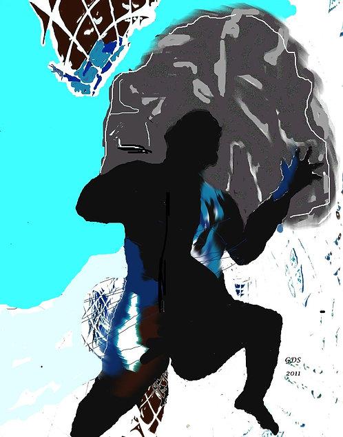 Myth of Sisyphus (Framed)