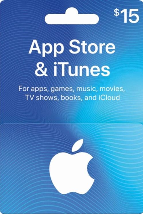 iTunes E-Gift Card ($15.00 Value)