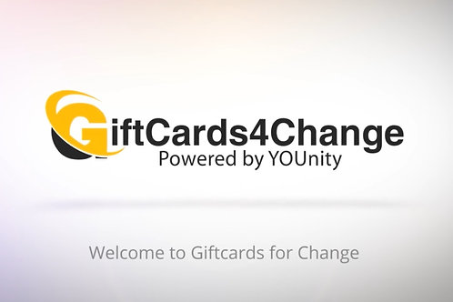 Donate to GiftCards4Change $25