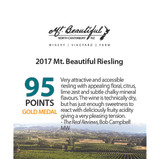 2017 Mt. Beautiful Riesling - 95 Points