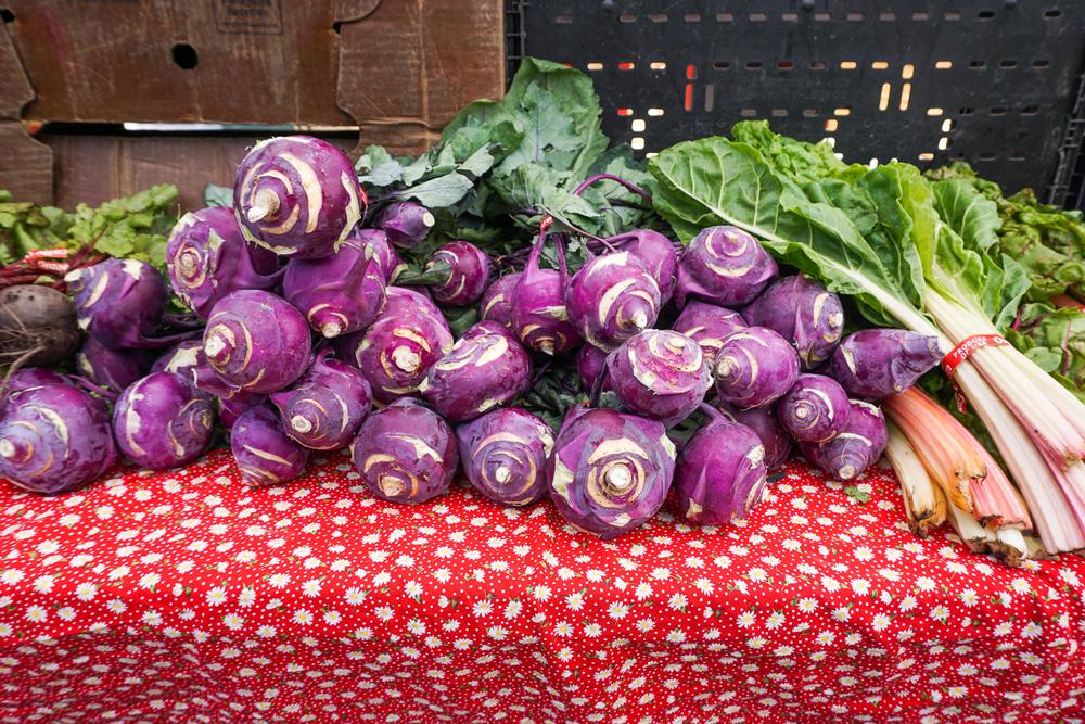 Martinez Farmer's Market - Kohlrabi