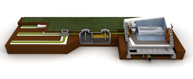 Onsite wastewater treatment system
