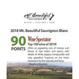 2018 Mt. Beautiful Sauvignon Blanc WS 90