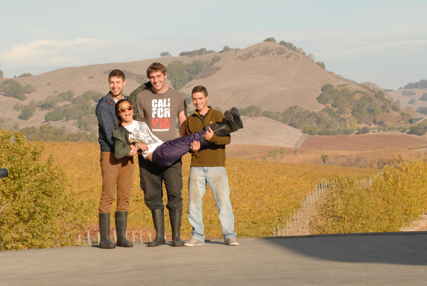 Harvest Interns Cuvaison Estate Wine