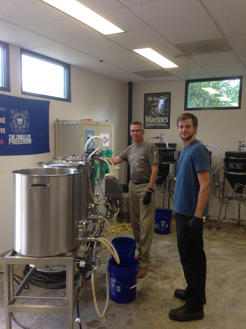 Brewing On The Pilot System With Chuck and Thomas