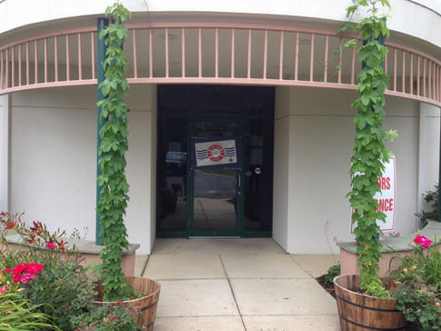Front Entrance With Hops