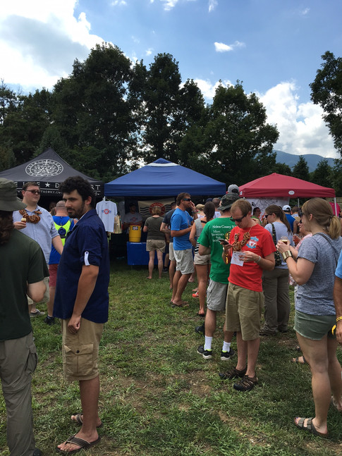 Our Beer Line At A Festival!