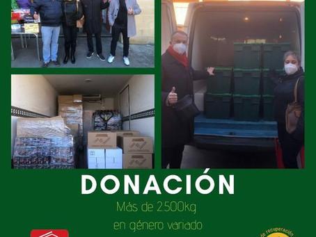 Donación de TEGEISA