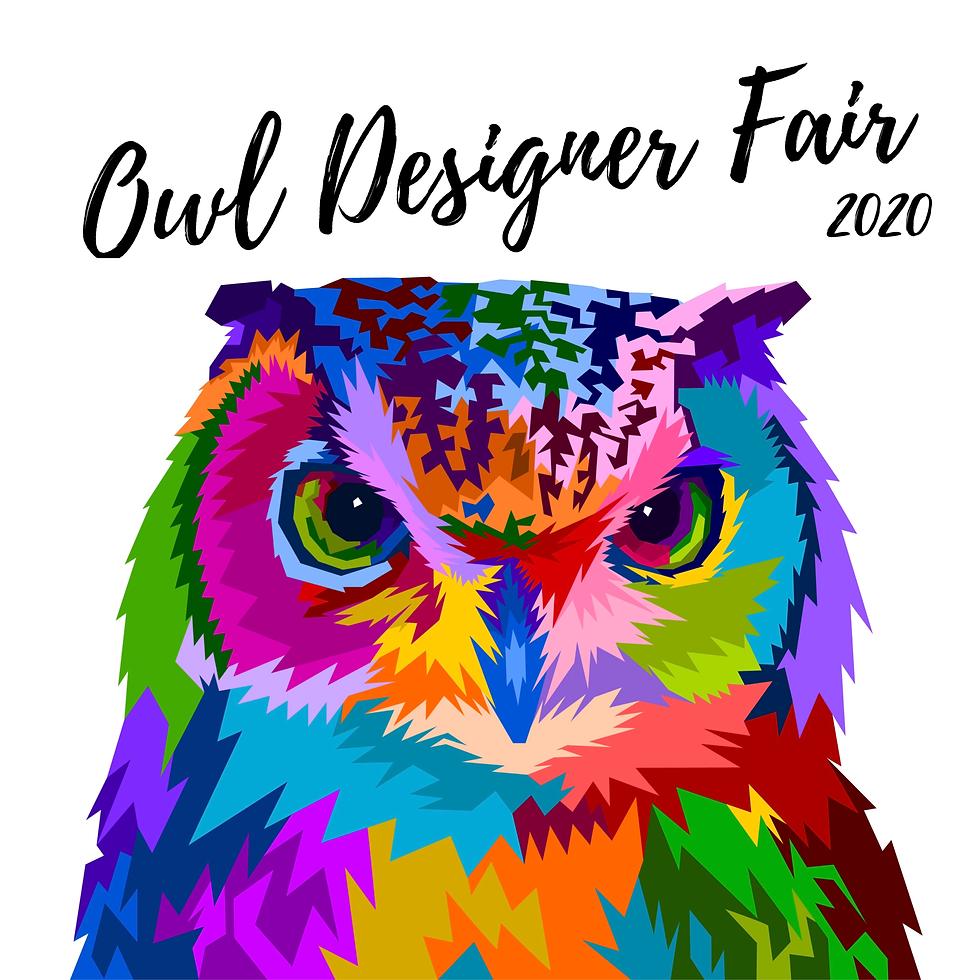 Owl Designer Fair 2020 Handmade Market V