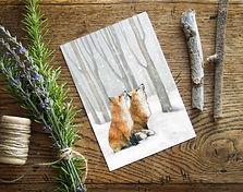 winter wonderland on oak - Karina Kalvai