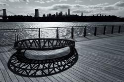 Sittin' on the dock of