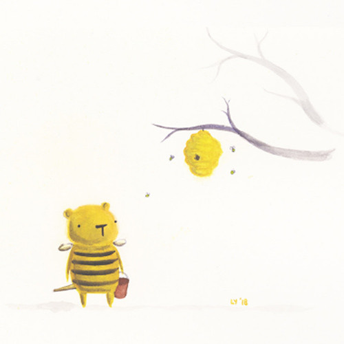 Bernadette knew she was bigger than your average bee. She also knew that your average bee was not a genius.