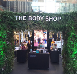 The Body Shop Pop Up Erin Whitty