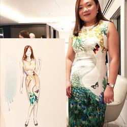 Erin Whitty live illustration Sydney