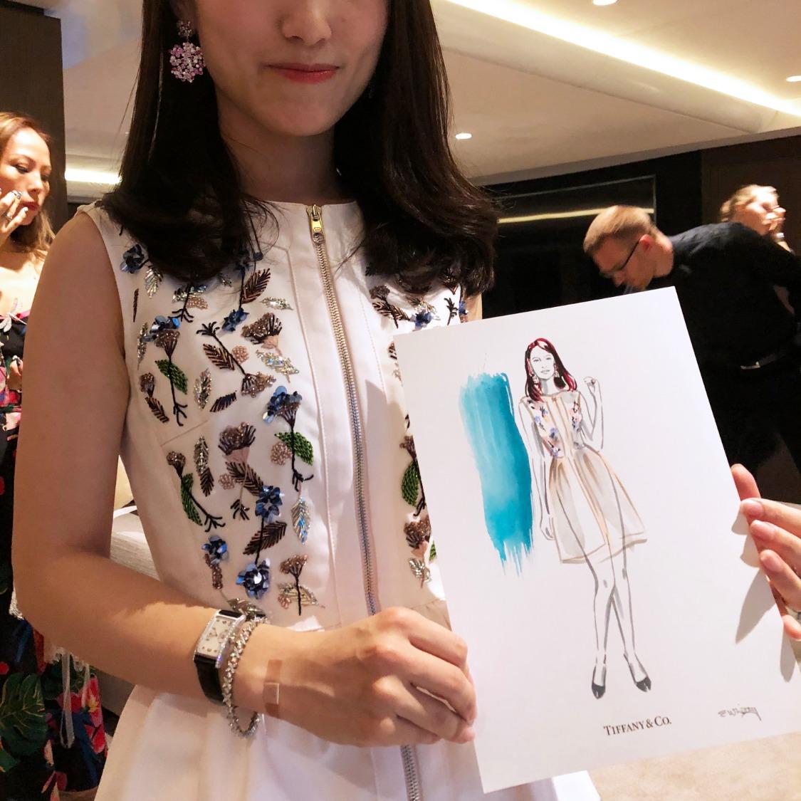 Erin Whitty Live Fashion Illustratio