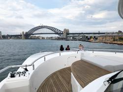 Erin Whitty live Sydney Harbour