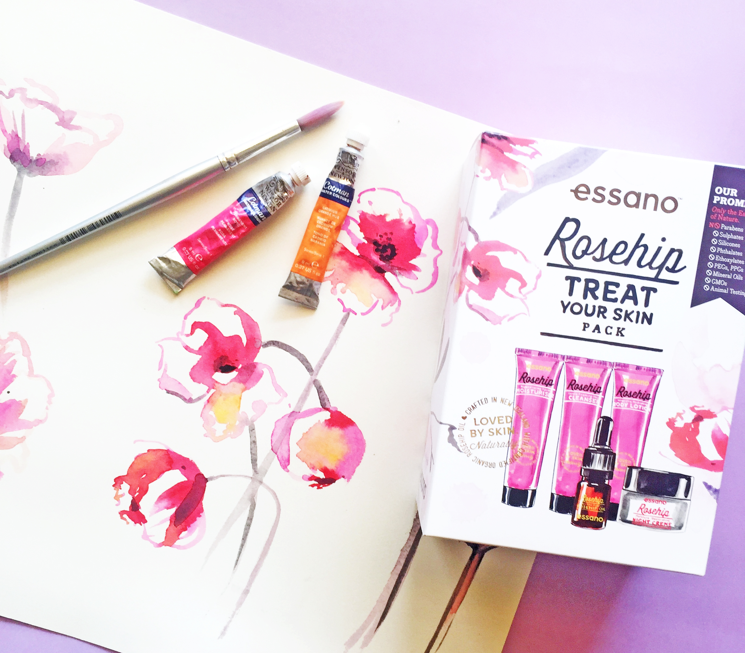 Essano Rosehip Treat Your Skin Pack