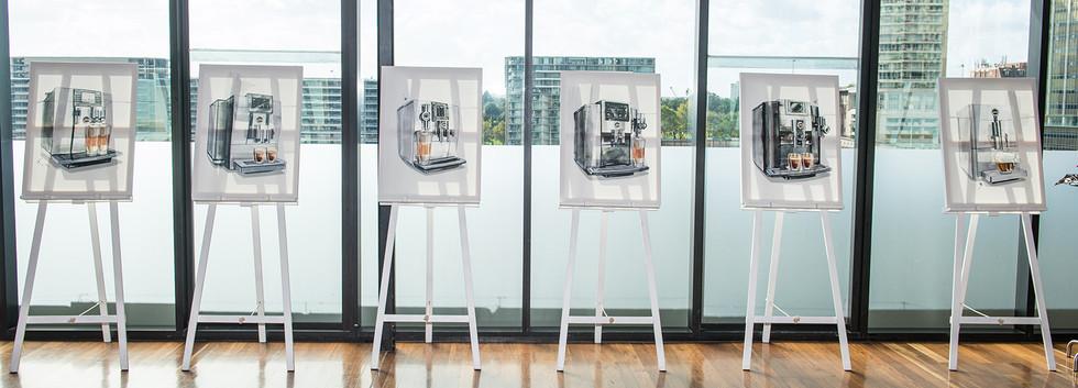 S8 Coffee Machine Media Launch