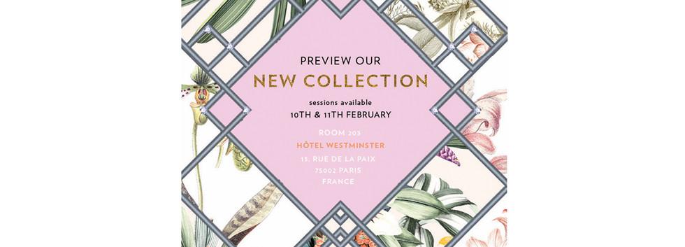 E-Invite for Paris Preview