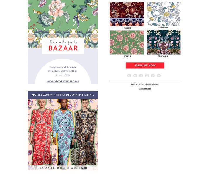 EDM Decorative Florals