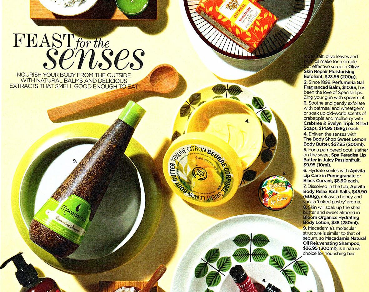 Editorial Flatlay - Cosmetics