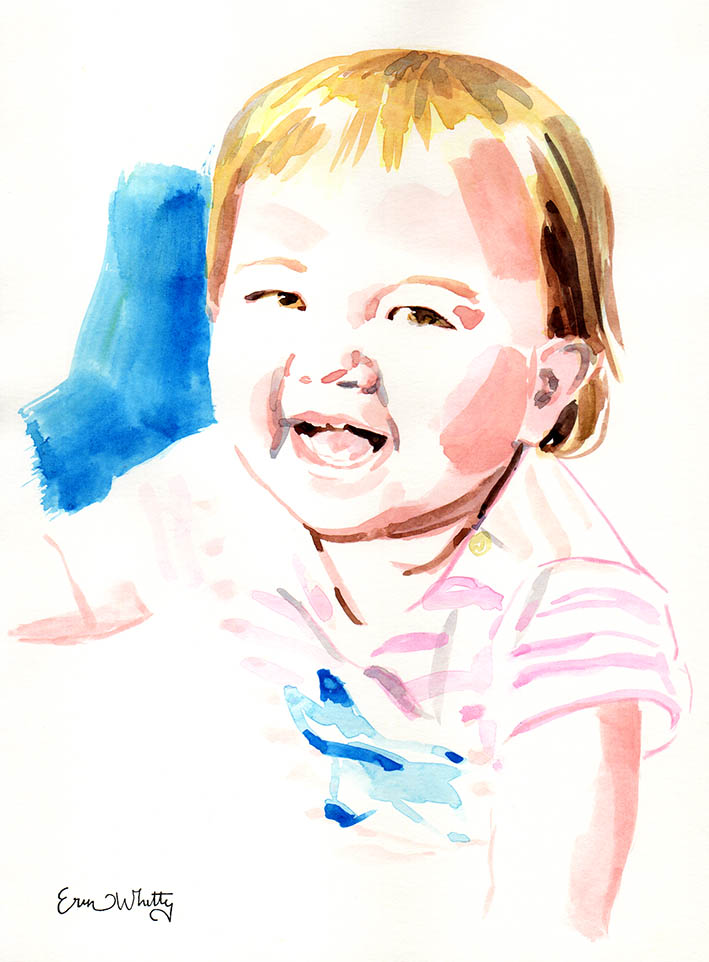 Custom Baby Portrait