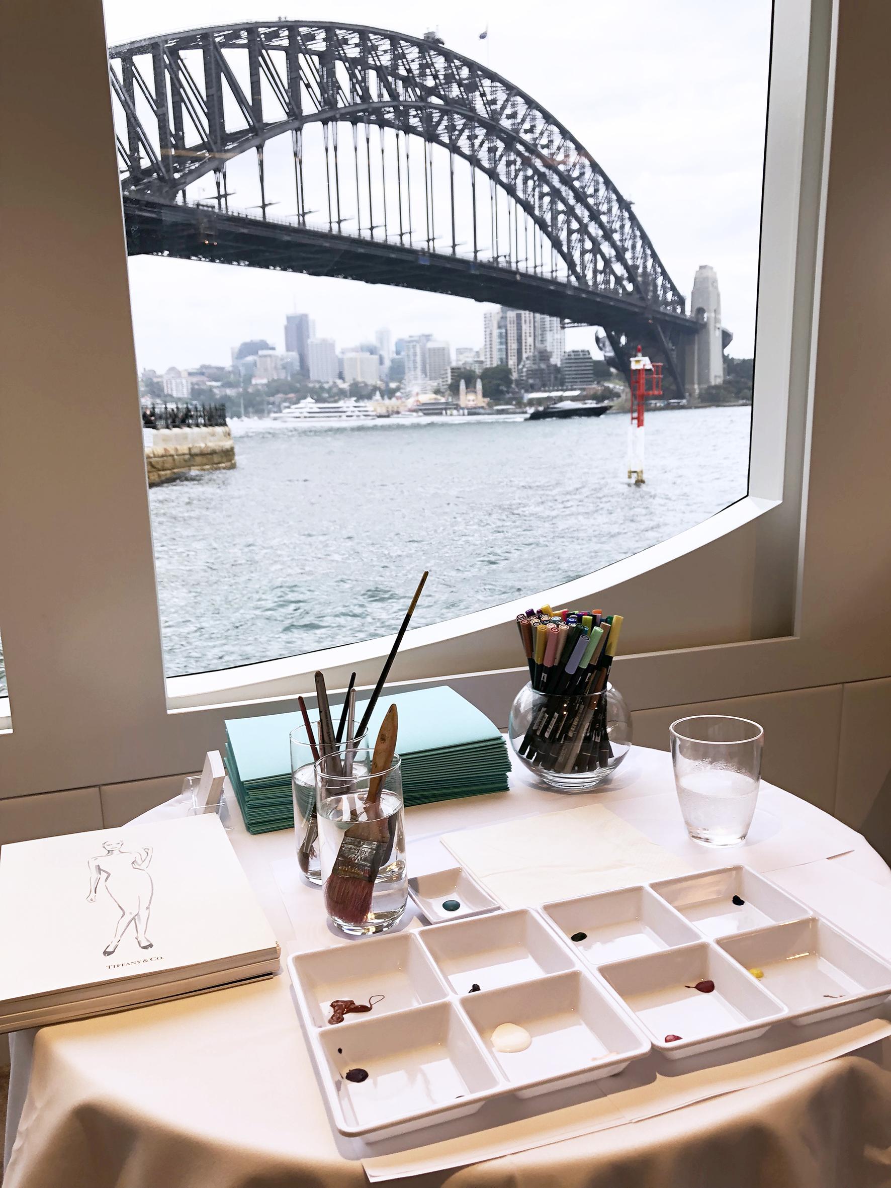 Erin Whitty event Sydney Harbour