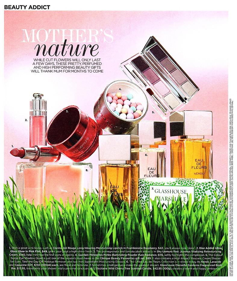 Editorial Styling - Cosmetics
