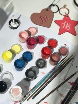 Leather Paint Mixes