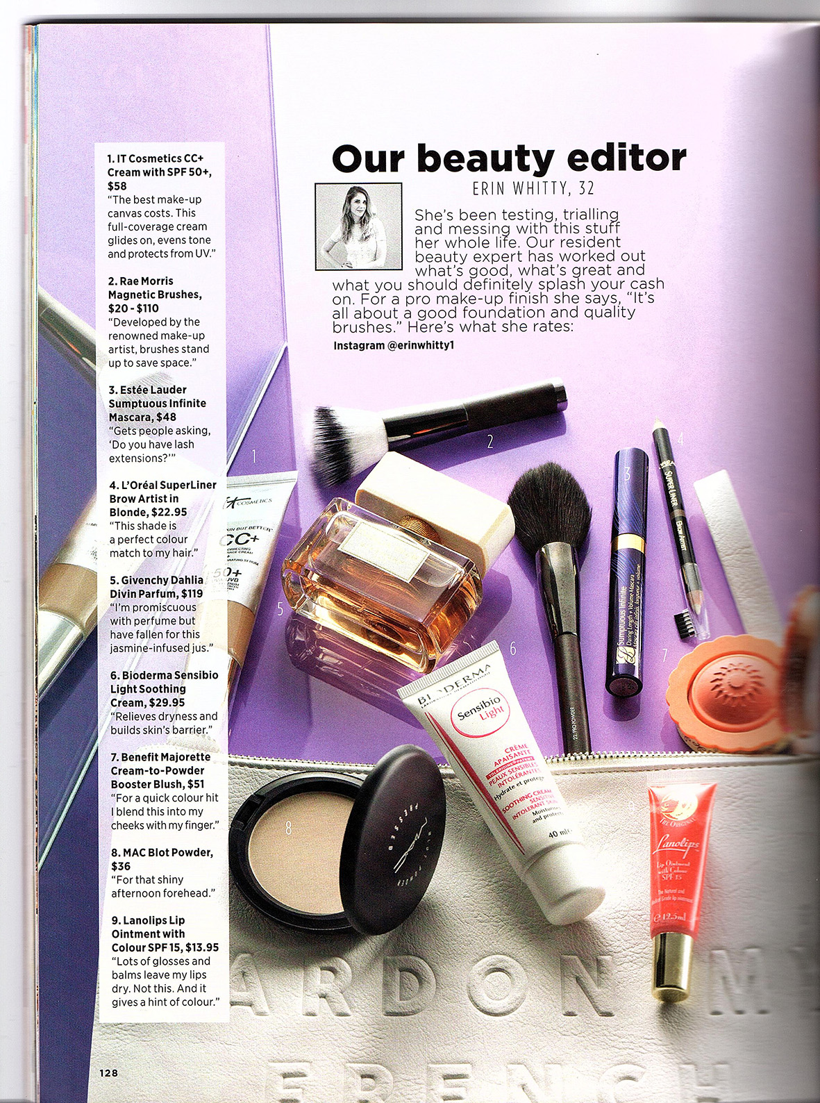 Women's Health | Beauty Bag