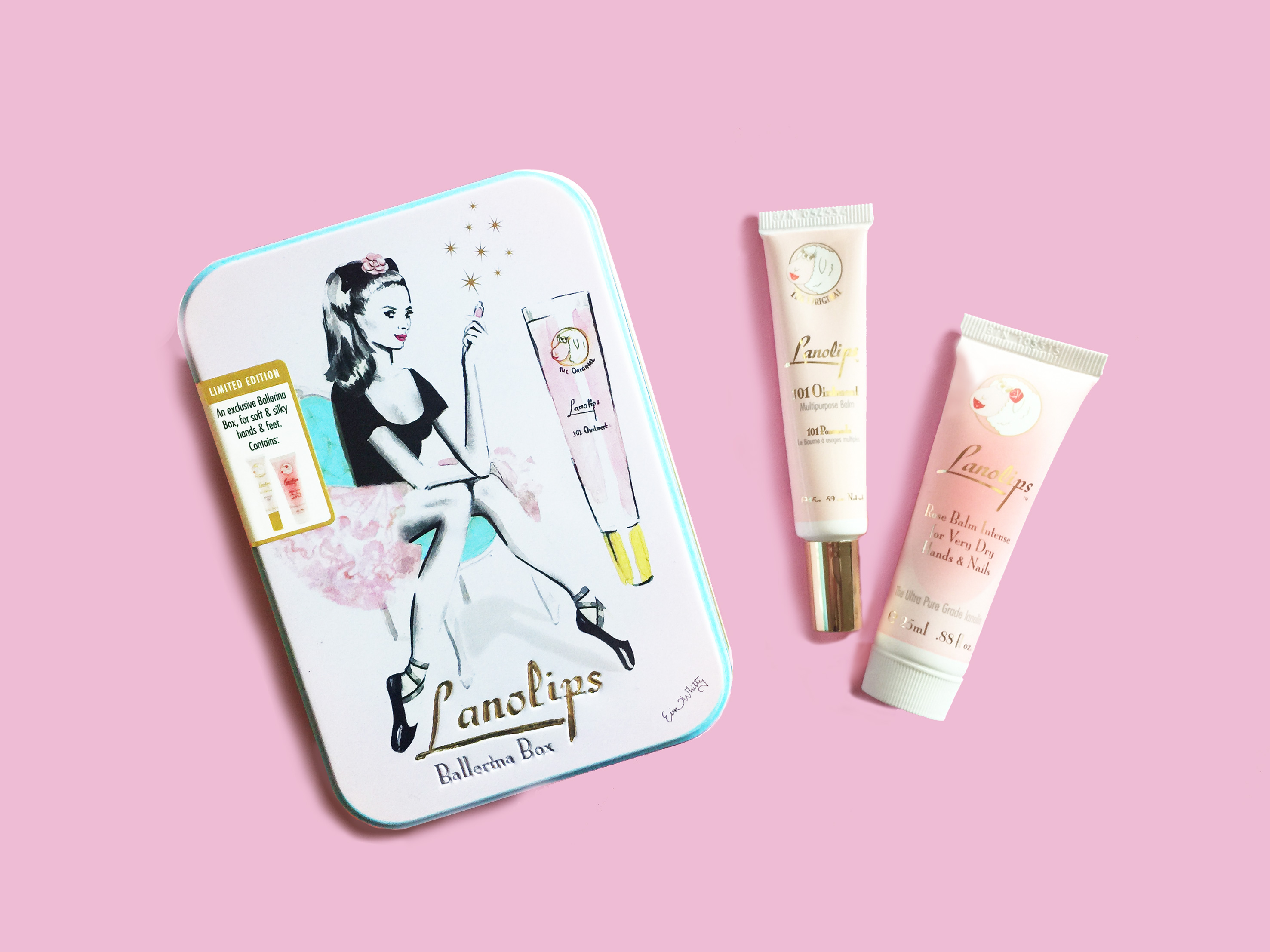 Lanolips Ballerina Box Tin