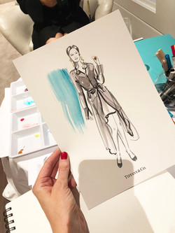 Erin Whitty live drawing sketch