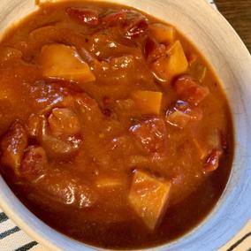 Bison Sweet Potato Chili